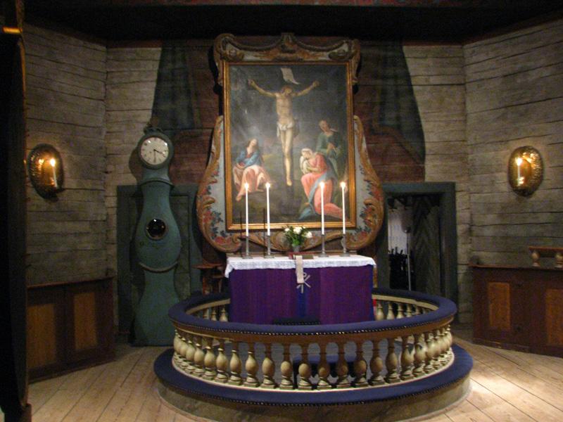 kostel - interiér