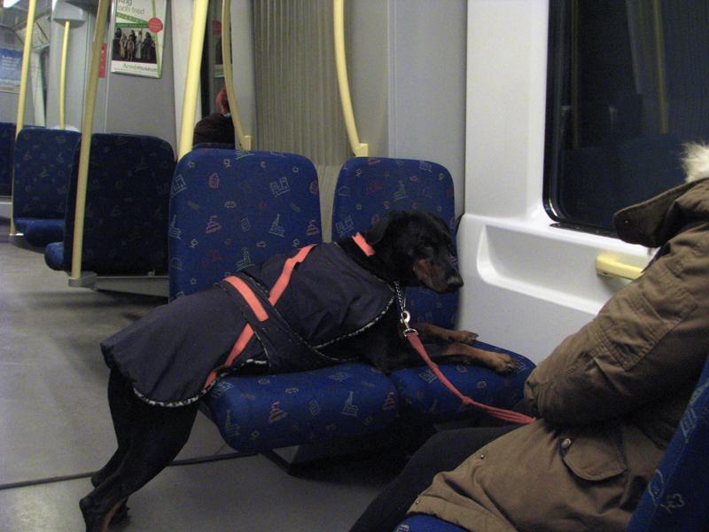 Cesta stockholmským metrem
